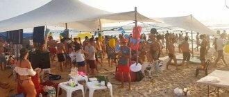 מסיבת רווקות בים