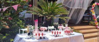 רוני עיצובים עיצוב שולחנות מתוקים למסיבת רווקות:072-392-1188