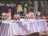 קישוטים ,אווירה ועיצוב שולחנות למסיבת רווקות