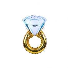 בלון טבעת יהלום ענק מיילר