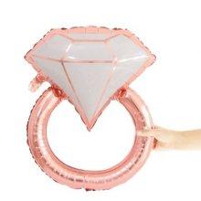 בלון טבעת רוזגולד