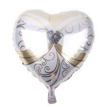 בלון כלה בצורת לב