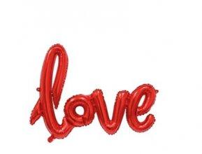 בלון LOVE מיילר אדום