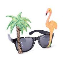 משקפיים עץ דקל פלמינגו