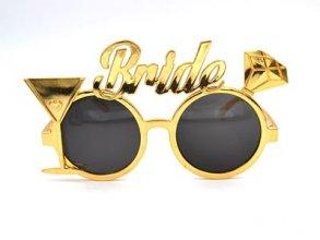 משקפיים BRIDE זהב