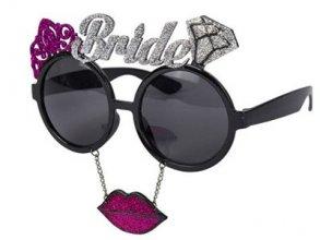משקפיים BRIDE שפתיים עם נצנצים