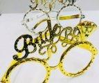 משקפיים BRIDE TO BE כסף וזהב