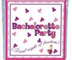 8 יח' מפיות קטנות Bachlorette party