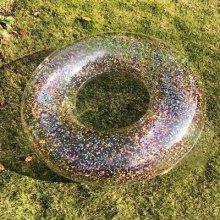 גלגל ים שקוף נצנצים 70 ס