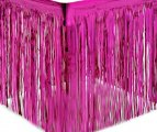 חצאית שולחן פרנזים-ורוד