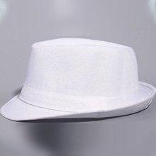כובע פנמה בד לבן