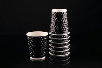 20 כוסות דגם בועות שחור