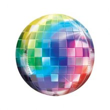 בלון 4D דיסקו צבעוני