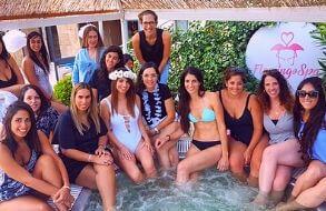 פלמינגו ספא למסיבת רווקות בחיפה